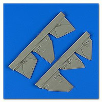 Quickboost 1/48 Defiant Mk I Undercarriage Covers for TSM