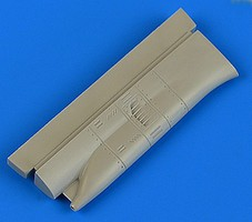 Quickboost 1/48 Su17M4 Fitter K Air Condition Intake for HBO