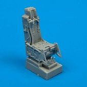 Quickboost F16A/C Ejection Seat w/Safety Belts -- Plastic Model Aircraft Accessory -- 1/72 Scale -- #72013