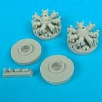 Quickboost 72002  1//72 B25H//J Correct Cowlings for Hasegawa /& Revell