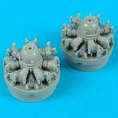 Quickboost 1/72 DC3/C47 Engines for ITA
