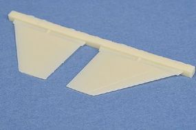 Quickboost F16 Block 5-10 Floating Elevator Plastic Model Aircraft Accessory 1/72 Scale #72196