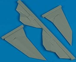 Quickboost F117A Nighthawk V-Tail for Hasegawa Plastic Model Aircraft Accessory 1/72 Scale #72284