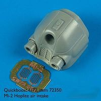 Quickboost Mi2 Hoplite Air Intake w/Photo-Etch for HBO Plastic Model Aircraft Accessory 1/72 #72350