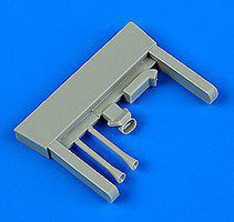 Quickboost Gloster Gladiator Air Intakes for Airfix Plastic Model Aircraft Accessory 1/72 Scale #72505