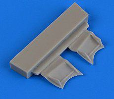 Quickboost F4F4 Wildcat Undercarriage Covers for Airfix Plastic Model Aircraft Accessory 1/72 #72527
