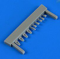 Quickboost L29 Delfin Air Scoops for AGK Plastic Model Aircraft Accessory 1/72 Scale #72533