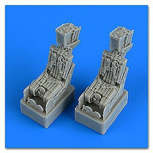 Quickboost 1/72 F14A Tomcat Ejection Seats w/Safety Belts for FJM