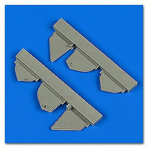 Quickboost 1/72 Defiant Mk I Undercarrige Covers for ARX