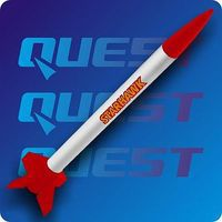 Quest Starhawk Model Rocket Kit Level 1 Model Rocket Kit #1005