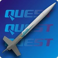 Quest Novia Model Rocket Kit Level 1 Model Rocket Kit #1006