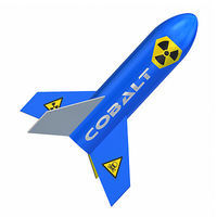 Quest Cobalt Model Rocket Kit Skill Level 1 Level 1 Model Rocket Kit #1021