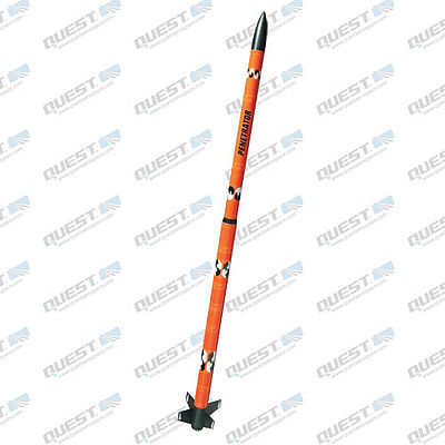 Quest Penetrator Model Rocket Quick Kit -- Level 1 Model Rocket Kit -- #1618