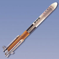 Quest Future Launch Vehicle Model Rocket Kit Skill Level 3 Level 3 Model Rocket Kit #3013