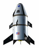 Quest MLAS Nasa Test Vehicle Model Rocket Kit Skill Level 3 Level 3 Model Rocket Kit #3014