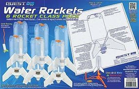 Quest 6 Piece Water Rocket Class Pack