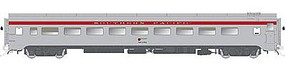 Rapido CC&F Lightweight Coach w/Skirts Southern Pacific #2381 HO Scale Model Train Car #100326