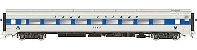 Rapido CC&F Lightweight Coach Long Island (MTA) #2183 HO Scale Model Train Car #100349