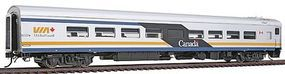 Rapido VIA MODERN CANADIAN LOUNGE HO Scale Model Train Passenger Car #105058