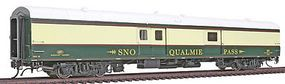 Rapido Burlington Northern Executive Baggage Express HO Scale Model Train Car #106256