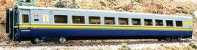 Rapido Super Continental Line LRC Club Car VIA #3461 HO Scale Model Train Passenger Car #107002