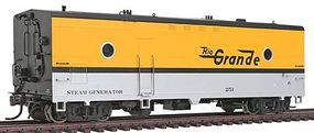 Rapido Denver & Rio Grande Western #251 Steam Generator Car HO Scale Model Train Car #107165