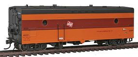 Rapido Milwaukee Road #73 Steam Generator Car HO Scale Model Train Car #107171