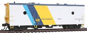 Rapido Ontario Northland #201 Steam Generator Car HO Scale Model Train Car #107175