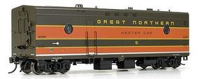Rapido Great Northern #8 Steam Generator Car HO Scale Model Train Car #107213