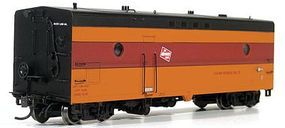 Rapido Steam Generator Car Milwaukee Road #75 HO Scale Model Train Passenger Car #107217