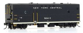 Rapido Steam Generator Car New York Central #XH-1 HO Scale Model Train Passenger Car #107223