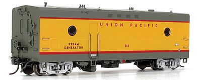 Rapido Steam Generator Car Union Pacific #302 HO Scale Model Train Passenger Car #107247