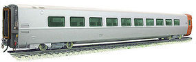 Rapido LRC Coach Bombardier Unnumbered (Demonstrator) HO Scale Model Train Passenger Car #108029