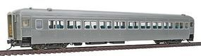 Rapido PS Osgood-Bradley 10-Window Coach, Full Skirt - Ready to Run Undecorated - HO-Scale