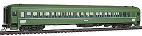Rapido P-S Osgood-Bradley Lightweight 10-Window Coach 3-Pack- Ready to Run Penn Central #2200, 2209 & 2217 (Jade Green) - HO-Scale (3)
