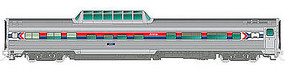 Rapido Budd Dome AMTK #9560 HO Scale Model Train Passenger Car #116004