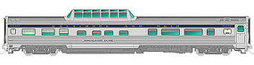 Rapido Budd Moonlight Dome B&O HO Scale Model Train Passenger Car #116006