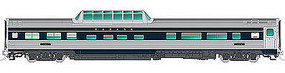 Rapido Budd Dome Wabash# 201 HO Scale Model Train Passenger Car #116037