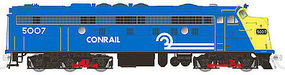 Rapido EMD FL9 with LokSound & DCC Conrail No Number (Blue, Yellow) HO Scale Diesel Locomotive #14544