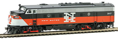 Rapido Trains Inc. EMD FL9 DCC New Haven #2017 -- HO Scale Diesel Locomotive -- #14559
