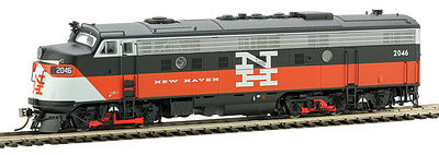 Rapido Trains Inc. EMD FL9 New Haven EDER-5a 2046 -- HO Scale Model Train Diesel Locomotive -- #14563