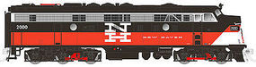Rapido EMD FL9 with DCC New Haven #2014 N Scale Model Train Diesel Locomotive #15004