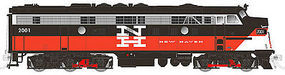 Rapido EMD FL9 with DCCNew Haven #2008 N Scale Model Train Diesel Locomotive #15011