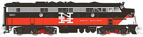 Rapido EMD FL9 with DCC New Haven #2031 N Scale Model Train Diesel Locomotive #15018