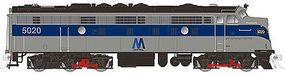 Rapido EMD FL9 with DCC NY Metropolitan Transit Authority #5020 N Scale Diesel Locomotive #15045