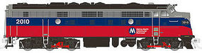 Rapido EMD FL9 with DCC Metro-North #2017 N Scale Model Train Diesel Locomotive #15051