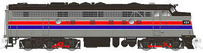 Rapido EMD FL9 with DCC Amtrak No Number N Scale Model Train Diesel Locomotive #15058