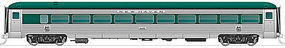 Rapido Steel Coach NH #8653 HO Scale Model Train Passenger Car #17007