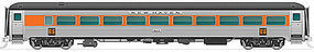 Rapido Steel Coach NH Unnumbered HO Scale Model Train Passenger Car #17033