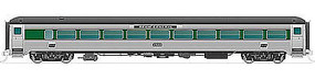 Rapido Steel Coach PC #2555 HO Scale Model Train Passenger Car #17039